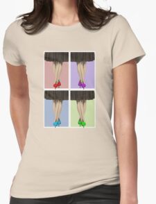 Vibrant Shoes Womens Fitted T-Shirt