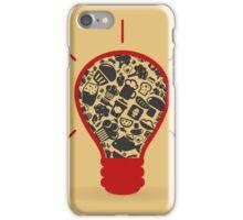 Food a bulb iPhone Case/Skin
