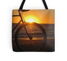 Fixie at Sunset Tote Bag