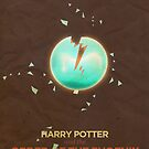 Harry Potter and the Order of the Phoenix Minimalist Poster by risarodil