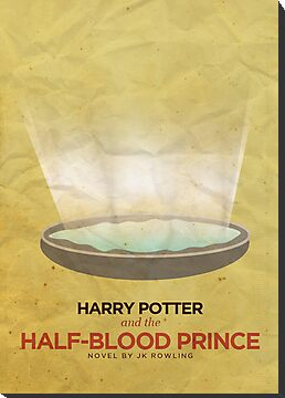 Harry Potter and the Half Blood Prince Minimalist Poster by risarodil