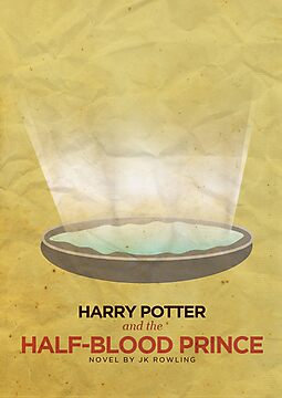 Harry Potter and the Half Blood Prince Minimalist Poster by Risa Rodil