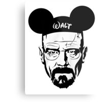 Walter Mouse Metal Print