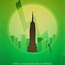 Minimalist Poster: Percy Jackson 1/5 by risarodil