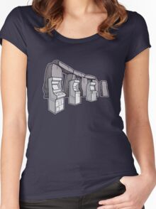 Arcade Henge Women's Fitted Scoop T-Shirt