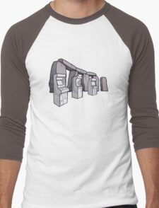 Arcade Henge Men's Baseball ¾ T-Shirt