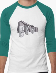 Arcade Henge Men's Baseball ¾ T-Shirt