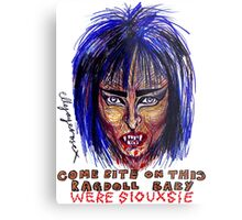 Were Siouxsie Metal Print