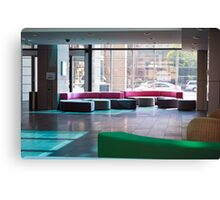 Glass Office  Canvas Print