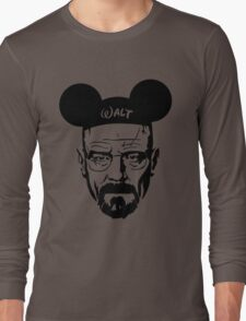 Transparent Walter Mouse Long Sleeve T-Shirt