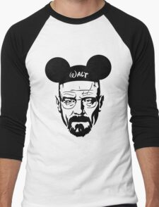 Transparent Walter Mouse Men's Baseball ¾ T-Shirt