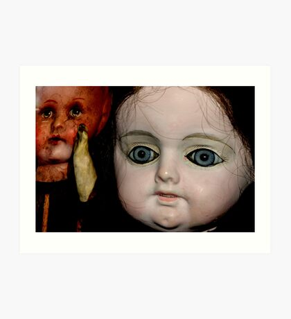 Antique Dolls Art Print