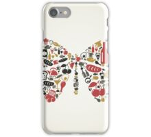 Food the butterfly iPhone Case/Skin