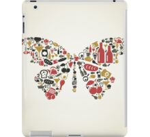 Food the butterfly iPad Case/Skin