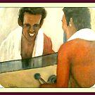 sorridere fa bene oil original inedito by antonio cariola