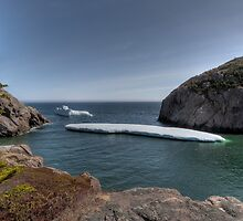 Bergs of Paradise by Kevin  Kroeker