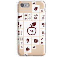 Food the designer iPhone Case/Skin