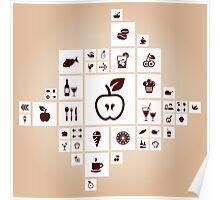 Food the designer Poster