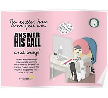 Answer His Call Poster