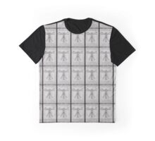The Vitruvian Men Graphic T-Shirt
