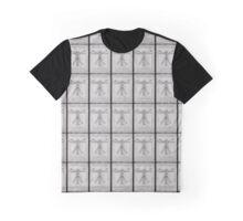 The Vitruvian Men Graphic T-Shirt