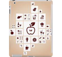 Food the designer iPad Case/Skin