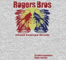 usa indians energy drink by rogers bros T-Shirt