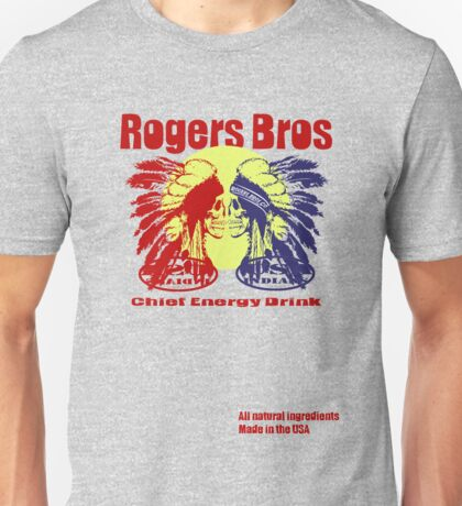 usa indians energy drink by rogers bros Unisex T-Shirt