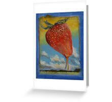 Strawberry Rainbow Greeting Card