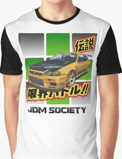 Top Secret Skyline GT-R Graphic T-Shirt