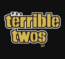 "VICT ""Terrible Twos"" Kids T-Shirt by Victorious"