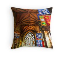 Flags in St Giles Throw Pillow