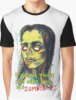 Zombie P J Graphic T-Shirt