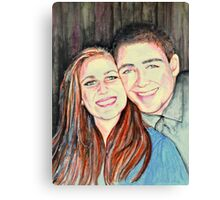 Katie & Jerry Canvas Print