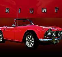 1963 Triumph TR4 by Mike Capone