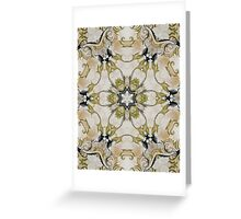 Green Rosette- R61 Greeting Card