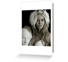 Two Classic Beauties 2 Greeting Card