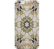 Green Rosette- R61 iPhone Case/Skin