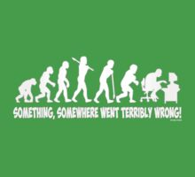 Something, somewhere went terribly wrong Kids Tee