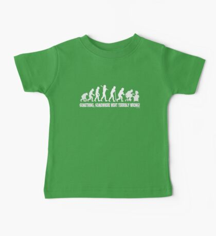 Something, somewhere went terribly wrong Baby Tee