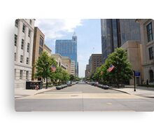 Fayetteville St. Raleigh NC (USA) Canvas Print