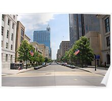 Fayetteville St. Raleigh NC (USA) Poster