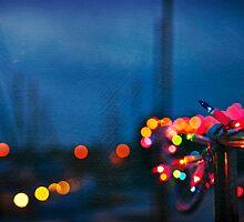 Festive Boat Lights by Lynnette Peizer