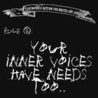 deadbunneh asylum - your inner voices have needs too by deadbunneh _