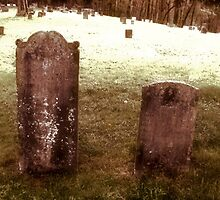 """""""THE CEMETERY""""... a Series... #9 Together Forever by © Bob Hall"""
