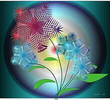 Moon Flowers by IrisGelbart