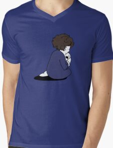 Every genius was borned child Mens V-Neck T-Shirt