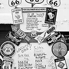 Route 66 Roadsigns by Stephen Knowles