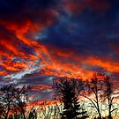 Sky On Fire by RobertSlate
