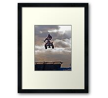 Taking Air Framed Print